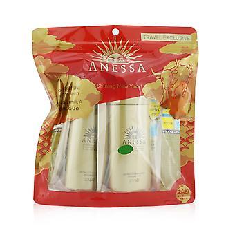 Anessa perfekte uv Sonnenschutz Hautpflege Milch spf50+ pa++++ Duo Pack 259980 2x90ml/3oz