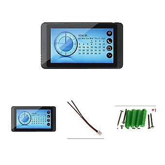 """7"""" Intercom vidéo de téléphone de porte pour l'appareil-photo imperméable à l'écran tactile à la maison"""