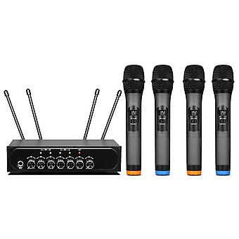 Baobaomi S-1400 Microphone System Built-in Tuning Reverb bluetooth Wireless Handheld Microphone for