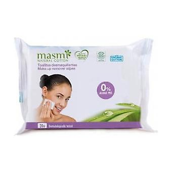 Makeup Remover Wipes 20 units