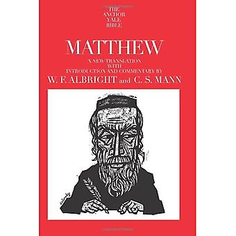 Matthew (The Anchor Yale Bible Commentaries): 26 (Anchor Bible Commentararies)