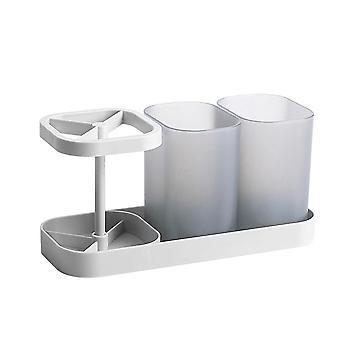 簡単に店の浴室の歯ブラシのホールダー、カウンター上のトイレタリー貯蔵の棚