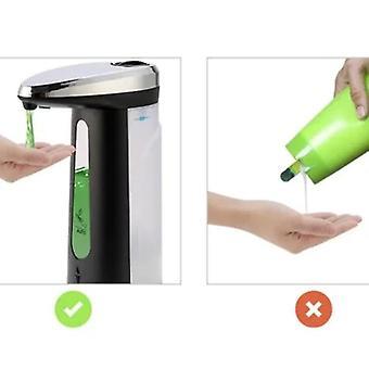 400ml automatische sensor touchless handsfree ontsmettingsmiddel Zeep Vloeibare Zeep dispenser