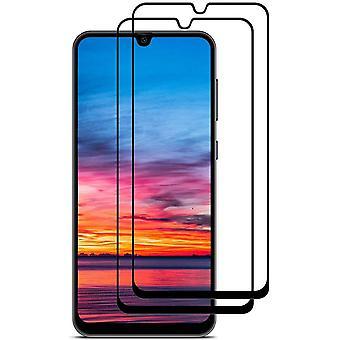 HaiFei Panzerglas Schutzfolie fr Samsung Galaxy A50 / M30s, [2 Stck] Gehrtetem Glas Hartglas