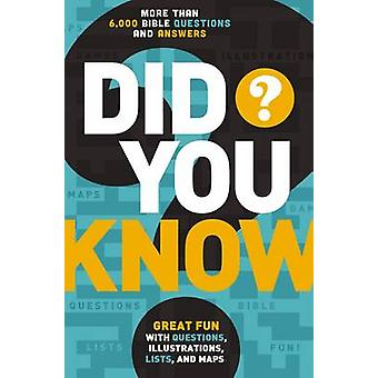 Did You Know  More Than 6000 Bible Questions and Answers by Thomas Nelson