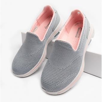 Skechers Go Walk 5 naisten slip on trainers harmaa / vaaleanpunainen