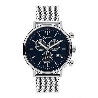 Gigandet G6 - 013 - Klocka, rostfritt stålband i silverfärg