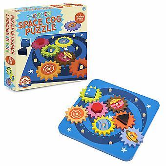 Tobar Multicolour Space Cog Pussel för barn
