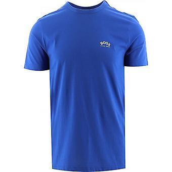 BOSS Blue Tee Curved T-Shirt