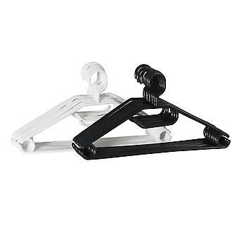 15x plastic hangers - willekeurig verkocht