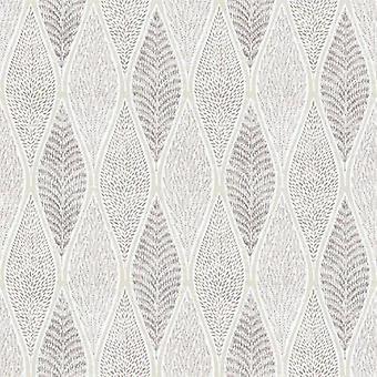 Tempo Cream Leaf Wallpaper