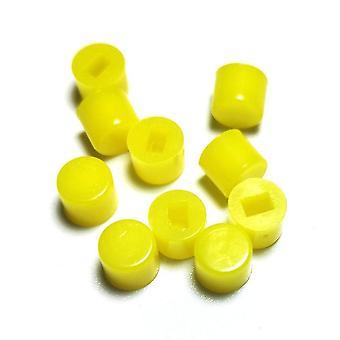 جديد الأصفر-10pcs a28 الذاتي قفل مفتاح غطاء دعوى ل5.8 7 8 8.5 مستطيل حفرة sm42134