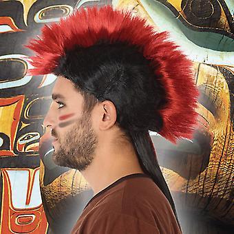 Peruukit intialainen mies Maroon