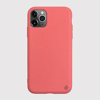 Custodia ecologica per iPhone 11 Pro corallo