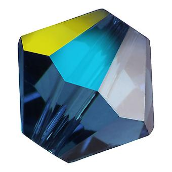 Preciosa Tšekin kristalli, Bicone Bead 4mm, 36 Pieces, Montana AB