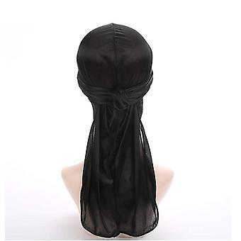 Bandana Silk (jeden rozmiar) Czarny