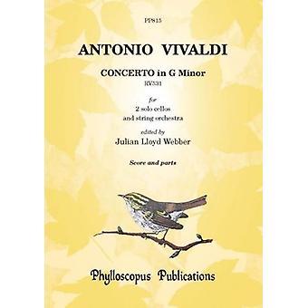 Vivaldi: Concerto In G Minor Rv531 [Score And Parts]