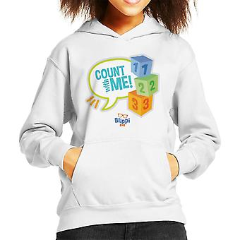 Blippi Count With Me Kid's Hooded Sweatshirt