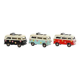 Vehicle DKD Home Decor Decorative Metal Van (3 pcs) (11 x 5 x 6 cm)
