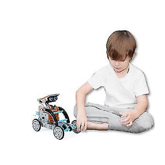 Koulutus 12 In 1 Aurinko robotti ja kiipeily ajoneuvon diy sarjat