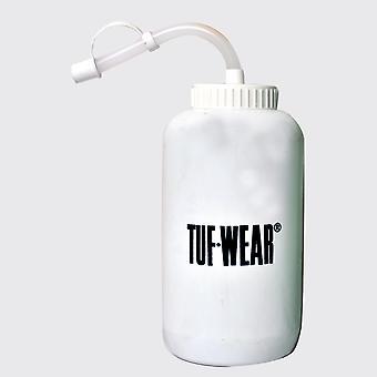 Tuf Wear Pro Style Vit Vattenbottle med halm 1000ml Vit