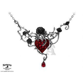 Alchemy Gothic cama de collar de rosas de sangre