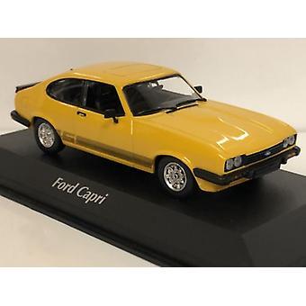 Maxichamps 940082221 1982 Ford Capri Orange 1:43 Scale