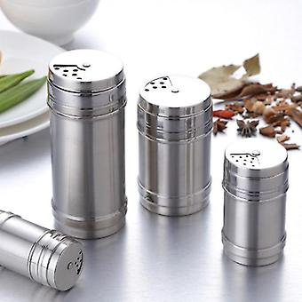 Nordic style eco friendly stainless steel spice jar containers(M)