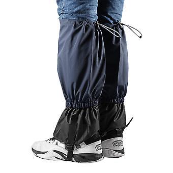 1 زوج من المقاومة للرياح المشي المشي الثلج طماق Gaiters السفر عدة