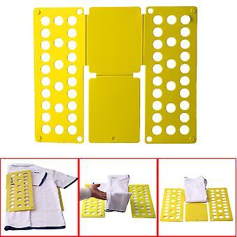 घर सुविधाजनक कपड़े फ़ोल्डर आयोजक प्लास्टिक त्वरित शर्ट तह बोर्ड