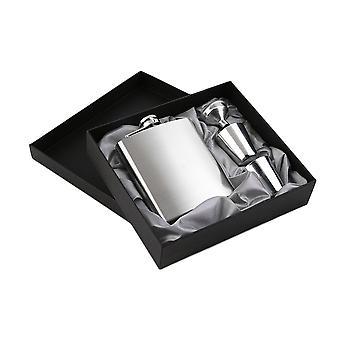 7oz ruostumattomasta teräksestä tasku lonkka pullo suppilo kupit asettaa juoma pullo lahja