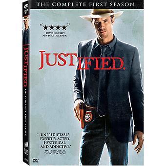 Perusteltua - perusteltua: The Complete ensimmäinen kausi [3 levyä] [DVD] USA tuonti