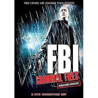 FBI Criminal Files [DVD] USA import