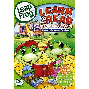 Learn to Read at the Storybook Factory [DVD] USA import