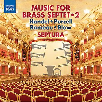 Händel / Septura - Musik für Brass Septett 2 [CD] USA import