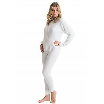 OCTAVE Womens Thermal Underwear All In One Union Suit with Zipped Back Flap