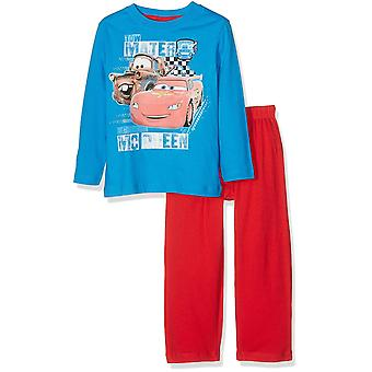 Jungen Disney Cars Lightning McQueen Long Kurzarm Pyjama-Set