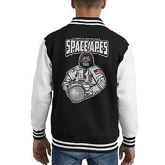 Space Apes Kid's Varsity Jacket