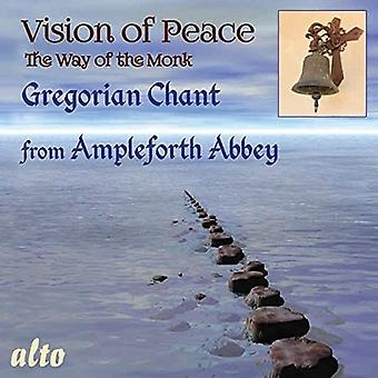 Monks of Ampleforth Abbey, Dom. Benjamin - The Way of Peace-Gregorian Chant [CD] USA import