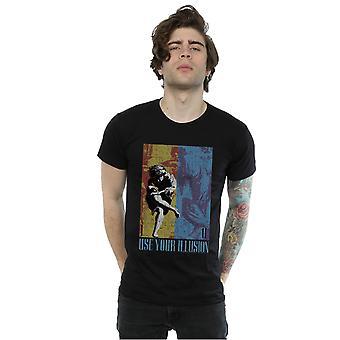 Guns N Roses Men's Double Illusion T-Shirt