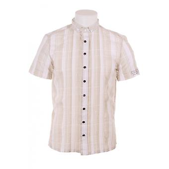 Diesel Mens Ss Shirt With Gold Thread