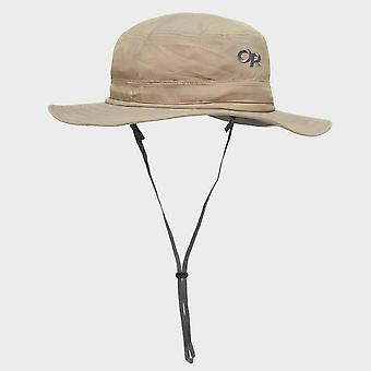 New Outdoor Research Helios Hiking Travel Sun Hat Beige
