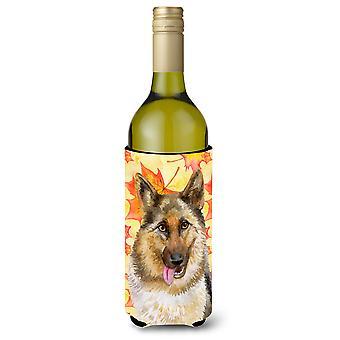 الراعي الألماني سقوط زجاجة النبيذ بيفيرجي عازل نعالها