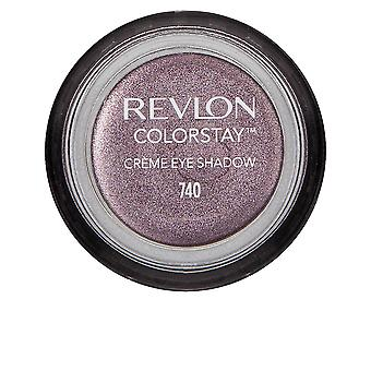 Revlon Colorstay Creme Eye Shadow 24h #740-black Currant For Women
