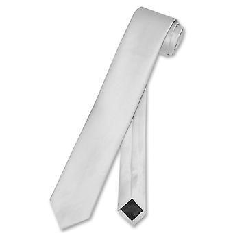 """वेसुवियो नापोली नैरो नेकटाई स्कीनी पुरुषों की पतली 2.5 """"गर्दन टाई"""