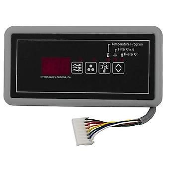 Hydro-Quip 34-0208 Eco-6 4-Button Rectangle Topside Control with 10' Cord