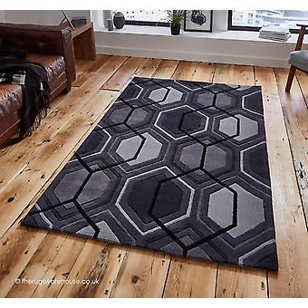 Aimo houtskool tapijt