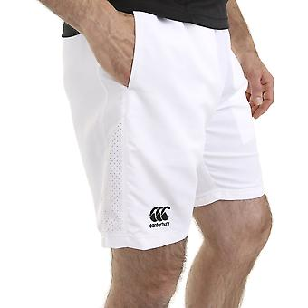Canterbury Mens Team Senior geborduurd Logo elastisch Shorts