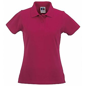 Russell Collection dames 100 % coton Polo Shirt