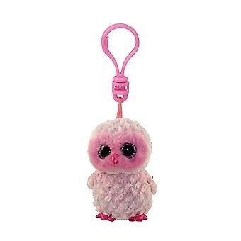 TY Beanie Boo Key Clip - Twiggy the Owl